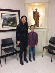 Congratulations Isaiah M., Principal for the Day!