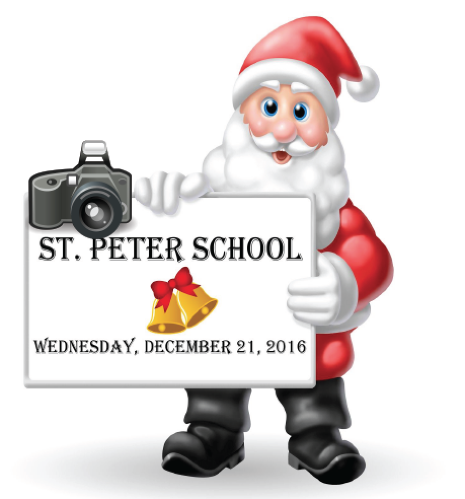 Santa is Visiting St. Peter CES