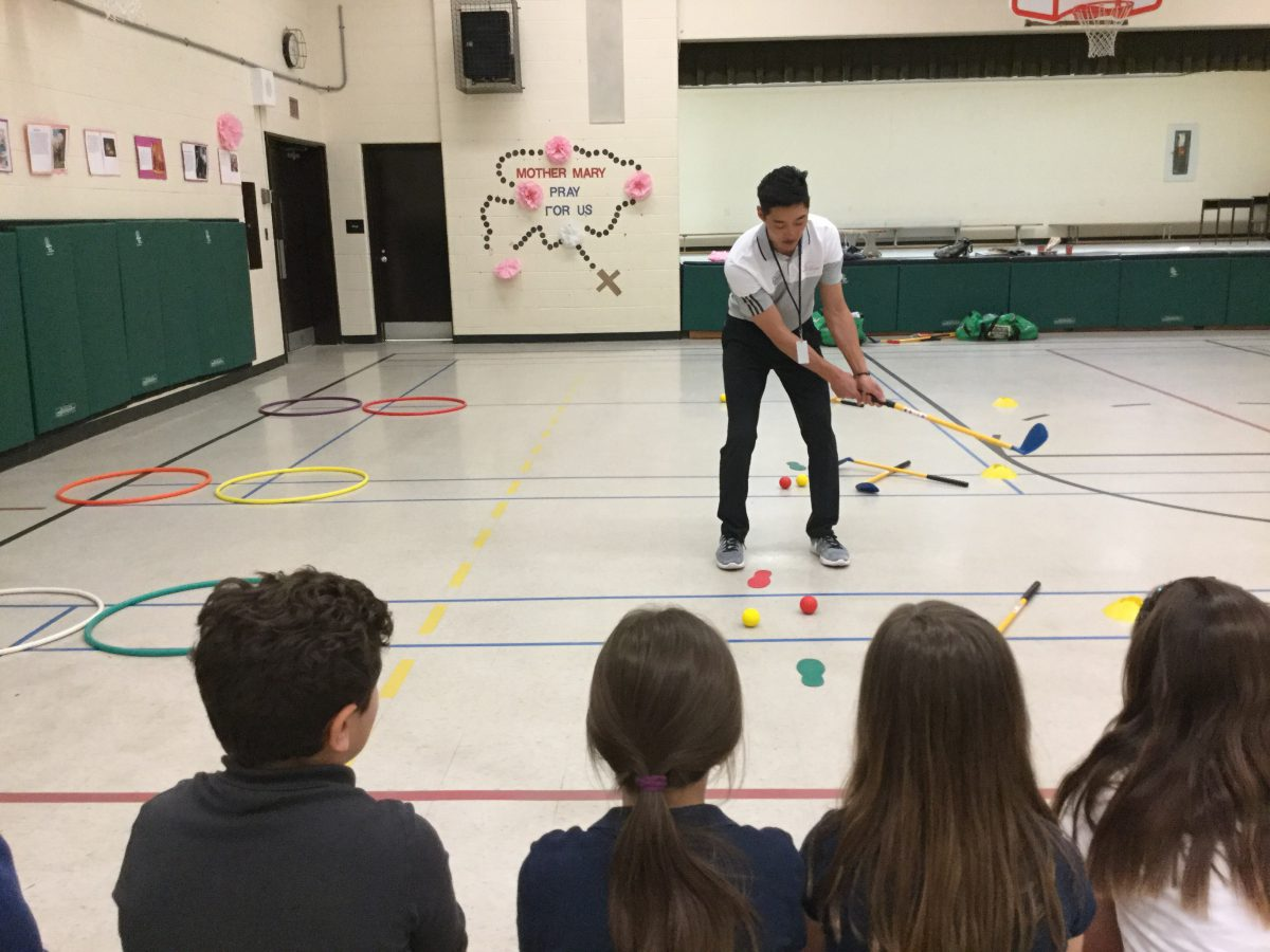 Our Primary Students Learned Golf Fundamentals