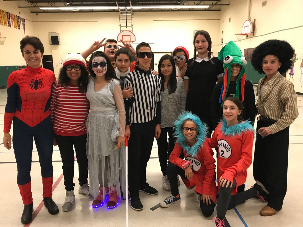 Halloween at St. Peter C.S. … so much fun!