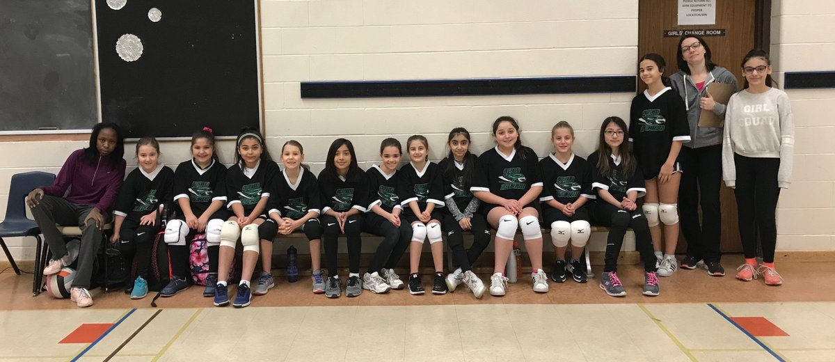 Congratulations to our Junior Girls Volleyball Team
