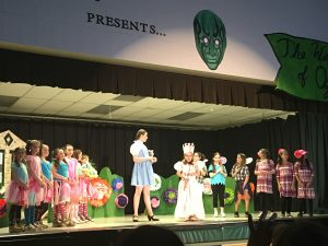 Thank You Ms. Dixon for bringing the Wizard of Oz to St. Peter!